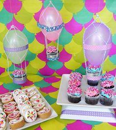 Creative Air Balloon Party Decor DIY Party Decoration Ideas