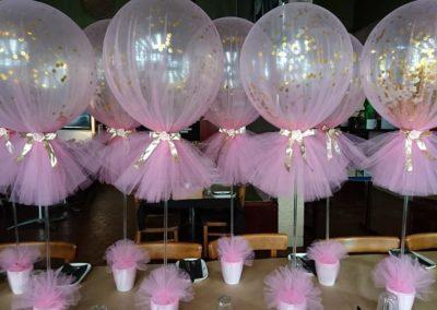 Tulle-balloons