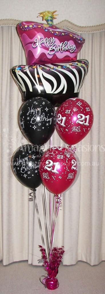 Zebra-Princess-Balloon-Bouquet-367x1024