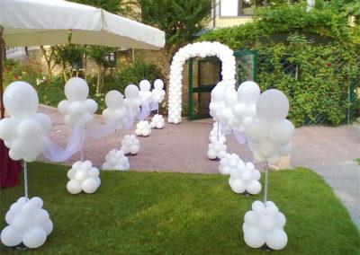 allestimento-palloncini-matrimonio bologna rimini riccione