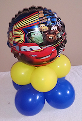 balloon-decorators-centerpieces-cars-theme-boys-birthday-toronto
