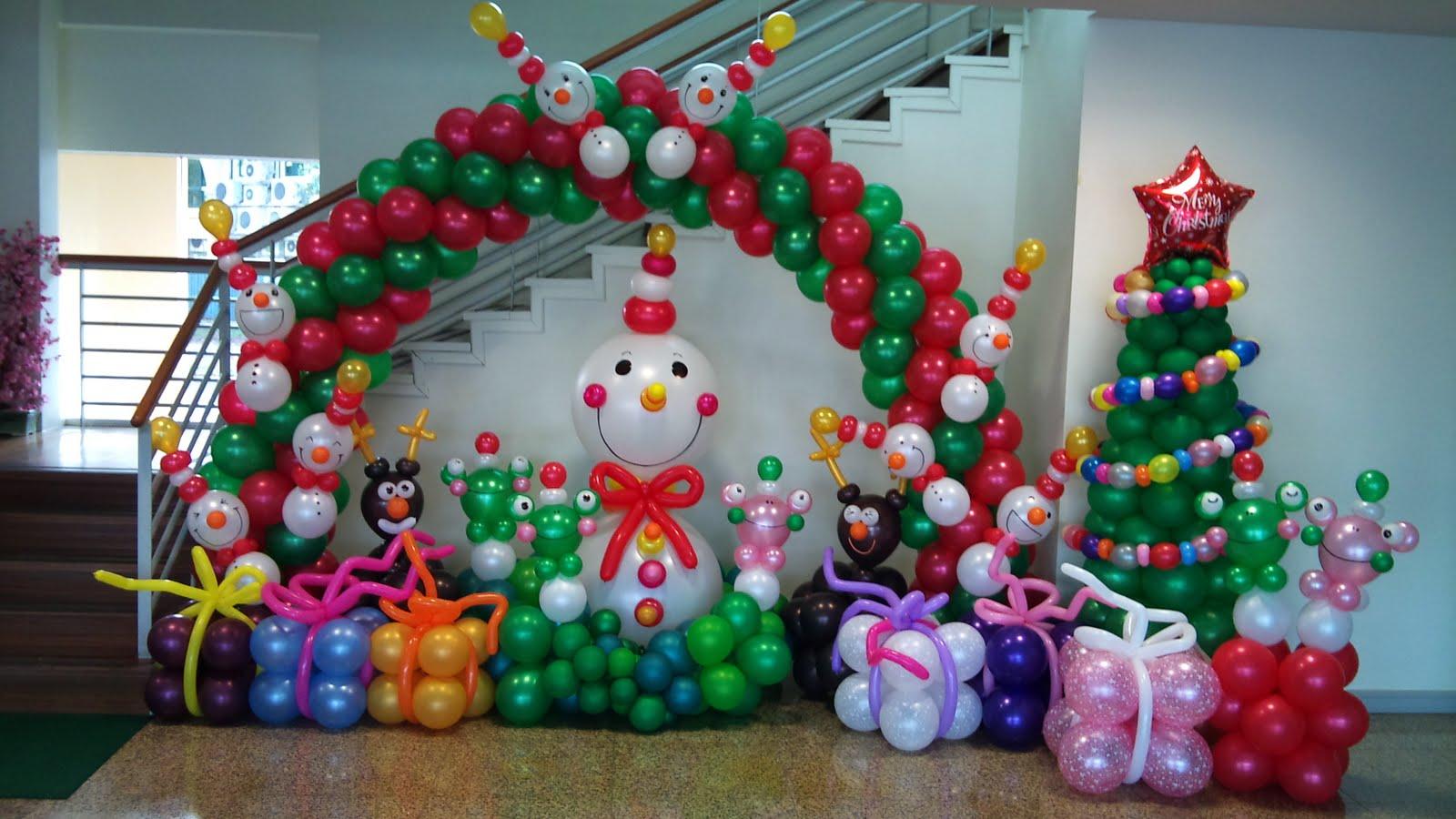 Ho geldin bebek partisi balon s slemeleri t rkiye 39 nin en for Water balloon christmas decorations