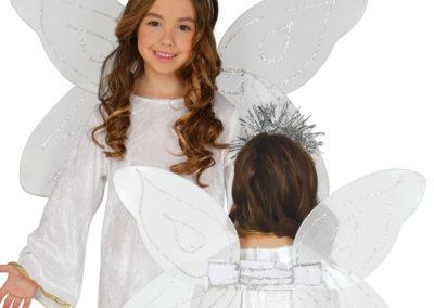 16482 ALAS ANGEL CON DIADEMA INFANTIL 45CM